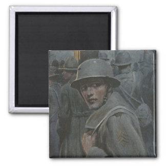 Soldier Glances Back Magnet