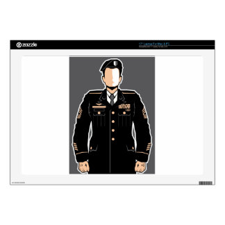 Soldier Hero vector Laptop Skins