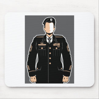 Soldier Hero vector Mouse Pad