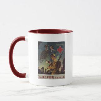 Soldier Holding Coffee Mug