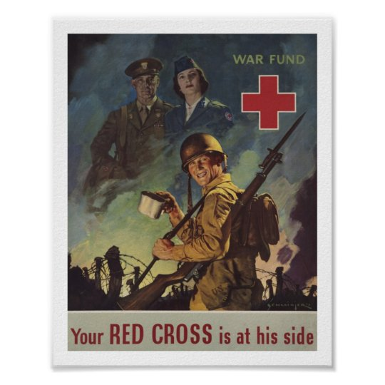 Soldier Holding Coffee Poster