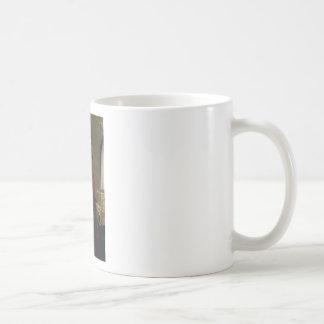 soldier in armorf coffee mug