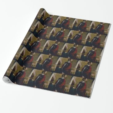 soldier in armorf wrapping paper