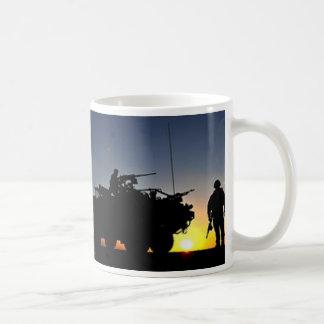 SOLDIER IN MID-EAST COFFEE MUG