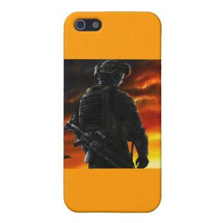 SOLDIER iPhone SE/5/5s CASE