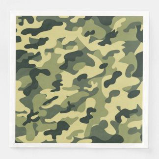 Soldier Joe GI Camouflage Party Napkins