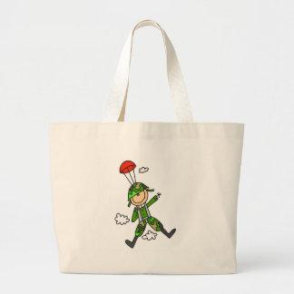 Soldier Jumper Large Tote Bag