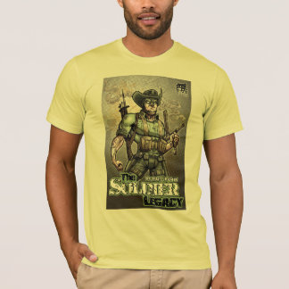"""""""Soldier Legacy"""" Single Side 'Armed and Ready' T-Shirt"""