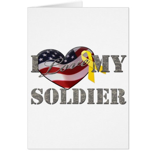 Soldier Love Card