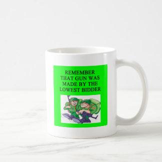soldier lowest bidder joke coffee mug