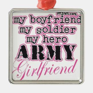 soldier metal ornament