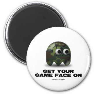 Soldier (Military Camouflage Retro Avatar) Magnet