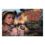 Soldier Mom Poster (small)