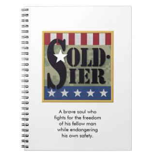 """""""Soldier"""" Notebook"""