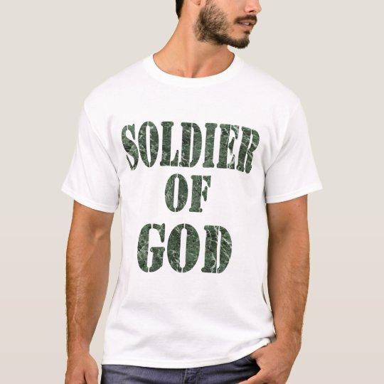 Soldier of God 5 Marbre vert T-Shirt