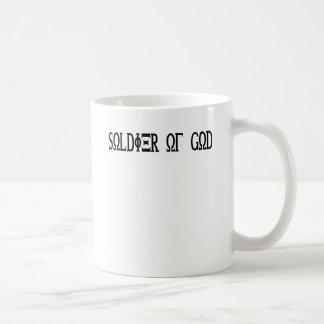 Soldier of God Grec Noir Mug