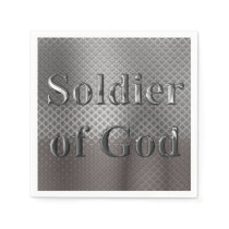 Soldier of God Napkin