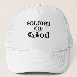 Soldier of God Noir Trucker Hat