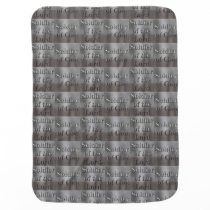Soldier of God Soldier of the Lord Baby Blanket