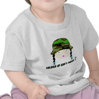 Soldier of Gods Army christian gift Shirts