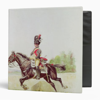 Soldier of the Imperial Guard on Horseback, 1898 Binder