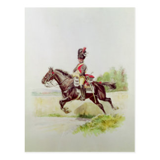 Soldier of the Imperial Guard on Horseback, 1898 Postcard
