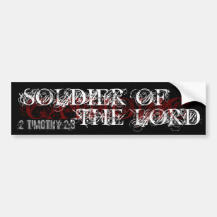 Soldier of the Lord Bumper Sticker