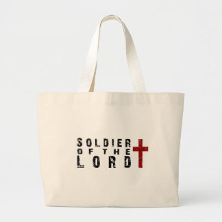 Soldier of the Lord Canvas Bag