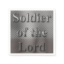 Soldier of the Lord Napkin