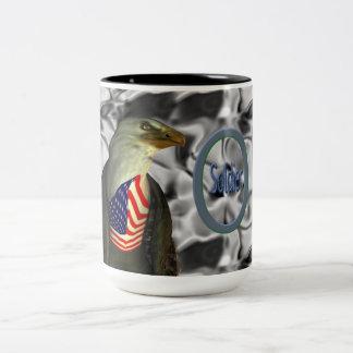Soldier-ON Two-Tone Coffee Mug