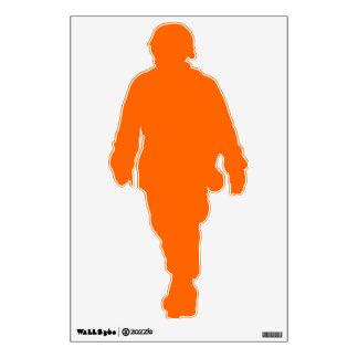 Soldier orange room graphics