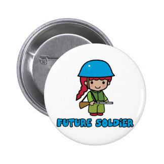 Soldier Pinback Buttons