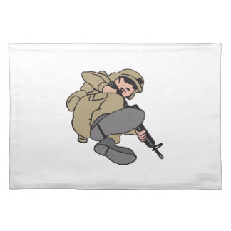 SOLDIER CLOTH PLACEMAT