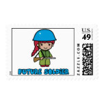 Soldier Postage Stamp
