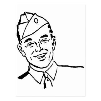 Soldier Postcard