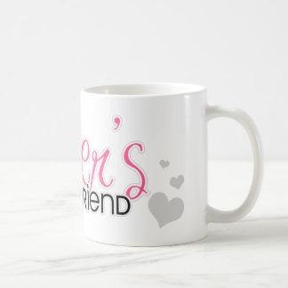 Soldier s Girlfriend Pink Mugs