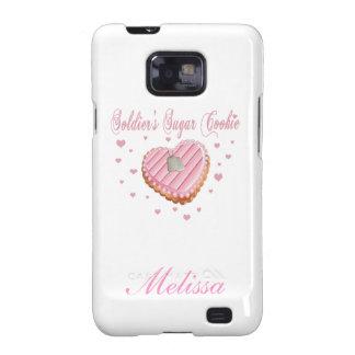 Soldier s Sugar Cookie Samsung Galaxy S Case Samsung Galaxy SII Case
