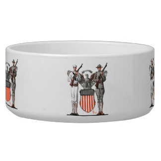 Soldier, Sailor and U.S. Shield Bowl
