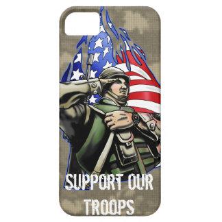 Soldier Salute design iPhone SE/5/5s Case