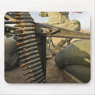 soldier scouts for enemy activity mouse pad