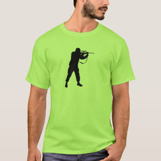Soldier Silhouette T-Shirt