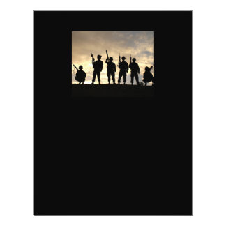 Soldier Silhouettes Flyer