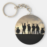 Soldier Silhouettes Keychains