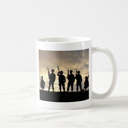 Soldier Silhouettes Mug