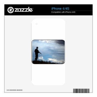 Soldier iPhone 4S Decals
