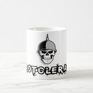 Soldier Skull Zero Tolerance Coffee Mug