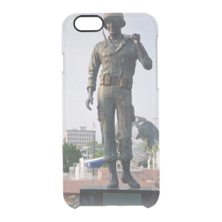 Soldier Statue Clear iPhone 6/6S Case