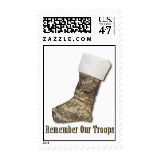 Soldier Stocking Postage at Zazzle