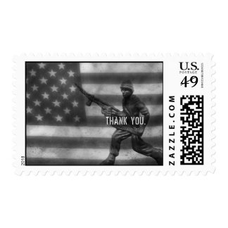 Soldier Thank You Postage