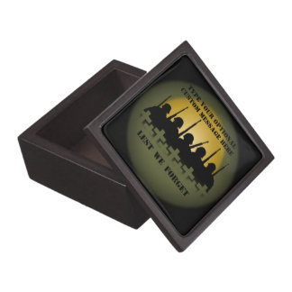 Soldier Tribute Box Lest We Forget Gift Box Premium Gift Box
